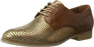 tamaris 女式23209牛津鞋 Brown (NUT/BRONCE 393) 4 UK