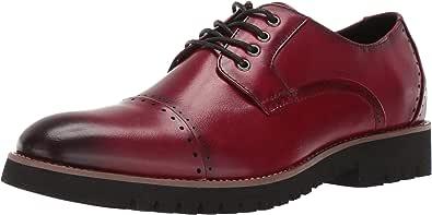 STACY ADAMS 男士 Barcliff 开普托牛津鞋 蔓越莓色 14 EE US