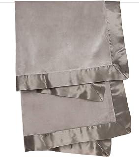 """小长颈鹿天鹅绒豪华婴儿毛毯 Flax 29"""" x 35"""""""