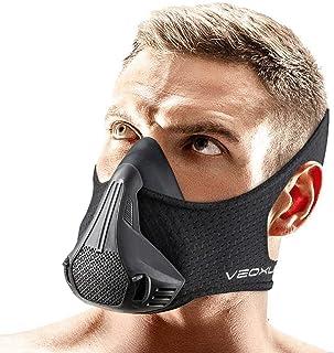 VEOXLINE 训练面具 | 24 种*阻力等级 - 运动锻炼跑步自行车健身慢跑有氧运动适合男士女士 | 在高海拔上模拟锻炼