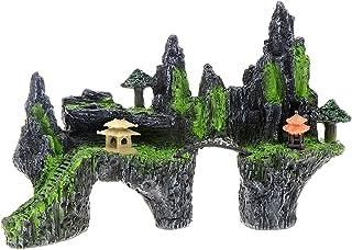 Saim Mountain View 水族箱装饰树屋桥鱼缸装饰