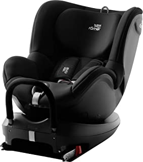 Britax 宝得适 DUALFIX2 R 双面骑士2 汽车安全座椅,Isofix安装,可360°旋转,适合0-4岁,黑色