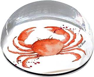 Forever Crystal 字样喷漆螃蟹宠物纪念磁贴