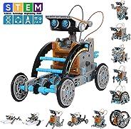 GARUNK 太阳能机器人套装 12 合 1 * 科学积木玩具 适合儿童青少年和科学爱好者 年龄 8 9 10 11 12 岁以上