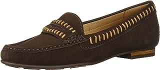Driver Club USA 女士皮革巴西制造枫叶大道乐福鞋