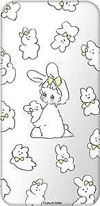 Caho 壳 透明 TPU 印刷 兔子 背景透明WN-LC1027566 2_ Xperia Z5 Compact SO-02H 兔子C