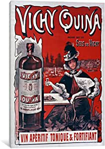 iCanvasART VAC822-1PC6-18x12 Vichy Quina Canvas Print by Vintage Apple Collection, 18 by 12-Inch, 1.5-Inch Deep