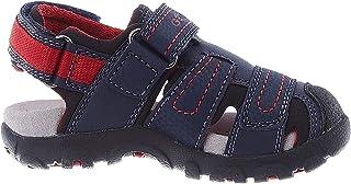 Geox 健乐士 Jr Strada D 男童闭趾凉鞋