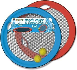 Alldoro Beach Volley & Super Disc,垒球棒和飞盘集于一体,带来双重乐趣,非常适合花园、公园和海滩