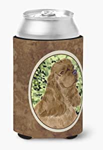 Caroline's Treasures SS8807 家长可卡犬超饮料隔热剂,适用于纤细罐 SS8807MUK,多色 多种颜色 Can Hugger SS8807CC