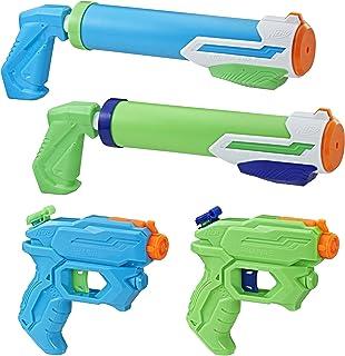 Hasbro 孩之宝 Super Soaker Floodtastic 4件装,水枪玩具