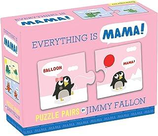 Jimmy Fallon 拼图对 Mama 多种颜色