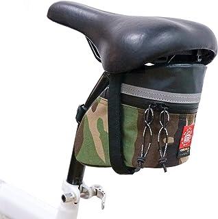 Rough Enough Camo Gravel 山地公路自行车鞍包座椅自行车配件适用于小型多功能工具自行车维修工具包工具包旅行户外运动防水考杜拉军事**