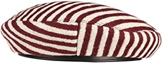 Brixton 女士贝雷特奥黛丽 Ii 篮球帽 Baske 女士篮子 冬季篮子 (58 厘米 - 白色-红色)