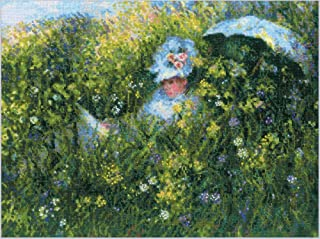 RIOLIS 1850 十字绣, Meadow After C. Monet (14 片)