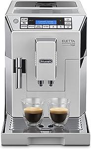 De'Longhi 德龙 Eletta Cappuccino Top 全自动咖啡机 ECAM 45.760.W/15 bar压力萃取/1450 W/1.8L大容量水箱