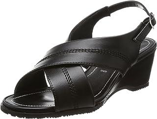 [罗密欧 华伦天奴] 办公室凉鞋 皮带扣 办公室 鞋跟6cm 3E 室内鞋