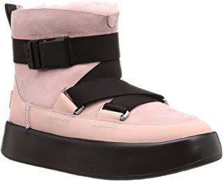 UGG Australia 女士经典 Boom 搭扣短靴 Pink Crystal 40 EU