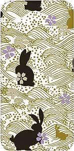 智能手机壳 TPU 印刷 对应多种机型 cw-876top 套 花朵 花 兔子 UV印刷 软壳WN-PR375751 AQUOS PHONE ZETA SH-01F B款