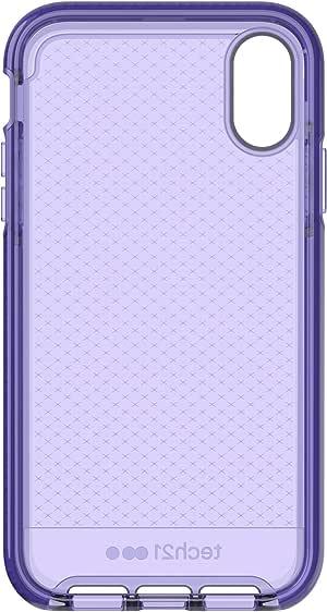 tech21 - Evo Check 手机壳 - 适用于苹果 iPhone XRT21-6107  Ultra Violet