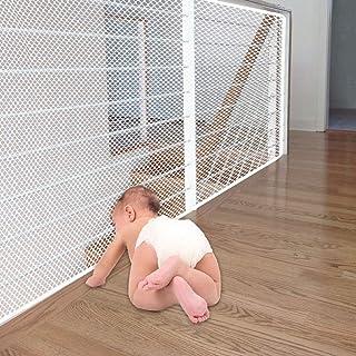 *网眼网,坚固的儿童*网栏护栏*楼梯网带各种绳索和系带适用于阳台,方便安装和用于儿童宠物玩具*