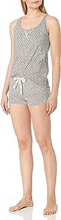 Calvin Klein 卡尔文·克莱恩 女式 针织背心和短裤睡衣套装