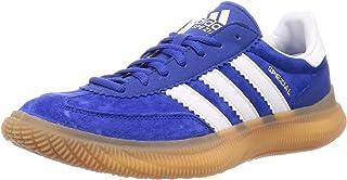 adidas 阿迪达斯 男士 Hb Spezial Boost 足球鞋,Aznobl/Ftwbla/Dormet,32 EU