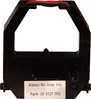 Acroprint Two Color Ribbon for ATR480 & ATR120R Time Clocks, Red/Black
