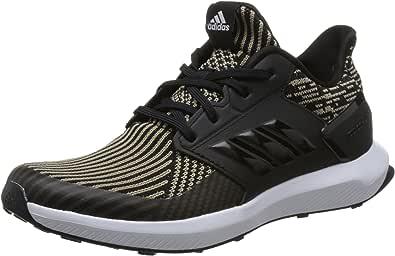 adidas kids 阿迪达斯童鞋 中性童 休闲运动鞋 RapidaRun KNIT J DB0220 一号黑/一号黑/FTWR 白 35 (UK 3-)