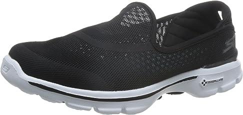 Skechers 斯凯奇 GO WALK 3系列 女 轻质一脚蹬健步鞋 14030