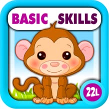 Preschool All-In-One Basic Skills: Learning Adventure A to Z (Letters, Numbers, Colors, Shapes, Go Together, Patterns, 123...