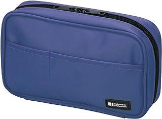 LIHITLAB 笔盒 [ 书本式 ] A7551 蓝色