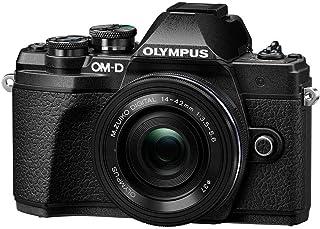 Olympus OM-D E-M10 Mark III Camera Body (Black), Wi-Fi Mappd, 4K VideoV207072BU010 w/ 14-42mm EZ 黑色