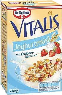 Dr. Oetker Vitalis 酸奶奶,6瓶装(6 x 600克)
