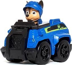 PAW PATROL 汪汪队立大功 收藏版救援赛车系列玩具 小号 特务警车+阿奇(供应商直送)