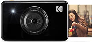 Kodak 迷你射击无线即时数码相机和社交媒体便携式照片打印机,液晶显示屏KOD-MSB  Camera 黑色