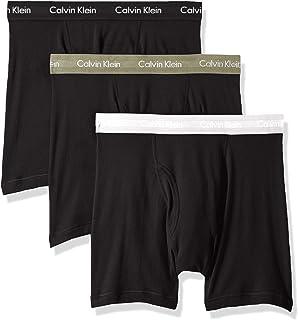 Calvin Klein 男士经典棉质平角内裤3件装