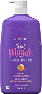 aussie TOTAL 奇迹系列7N1 护发素 26.2 Fluid Ounce (Pack of 4)