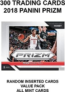 DROB 300 NBA 收藏卡 - 2018 PANINI PRIZM NBA 篮球收藏价值卡包(每包 300 张) - 随机插入所有专业卡 - 可收藏的集换卡超值价格