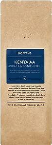 Booths 肯尼亚 AA 烘培研磨咖啡, 227克 6件装