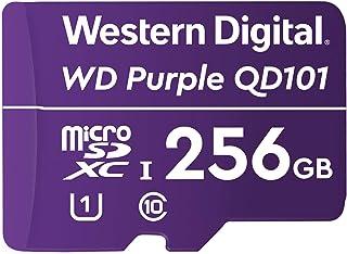 Western Digital 西部数据 WD 紫色 SC QD101 256GB microSDXC *耐力,速度等级10,UHS 速度等级 1 U1