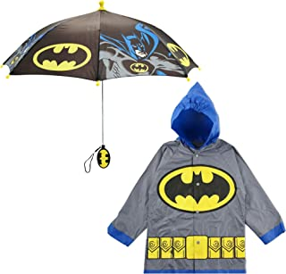 DC Comics Boys' Batman Slicker and Umbrella Set