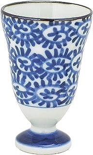 初山窑 红*杯 蓝 6.5φ×10Hcm 黑木草 红*杯 YH-266-24