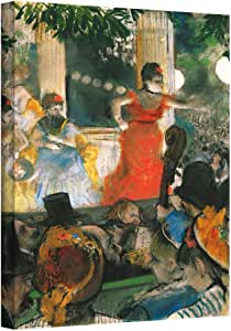 Art Wall 'Cafe Concert at Les Ambassadeurs' Gallery-Wrapped Canvas Artwork by Edgar Degas, 32 by 24-Inch
