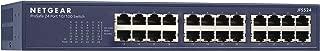 NETGEAR ProSAFE FS105NA 5 端口快速以太网交换机 (FS105NA) 海蓝色 24 Port Rackmount