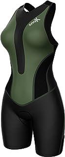 Sparx 女士铁人三项套装三短赛车游泳跑步