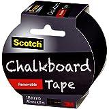 Scotch 黑板胶带 多种颜色 9.39x9.65x5.08 cm 1905RCBBLK