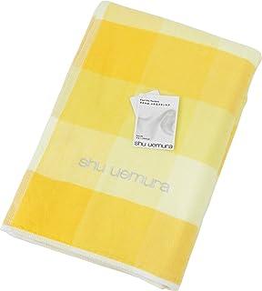 内野(UCHINO)植村秀 S 彩色调色剂 浴巾 黄色 约65×130cm GAUZE/柔和柔软 2735B076 Y