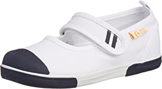 Carrot 室内鞋 魔术贴 儿童 鞋 4大功能 舒适合脚 宽松 防臭 CR ST13 蓝 17.5 2E