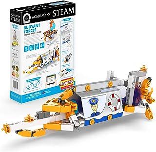 Engino - STEAM 學院玩具 | 浮力力量:浮力、重量和* - 積木玩具和學習活動(4 個模型可選)